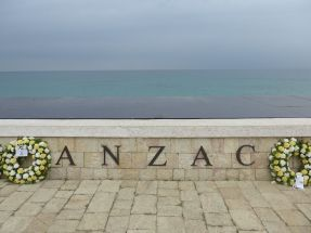ANZAC cove, day after ANZAC day