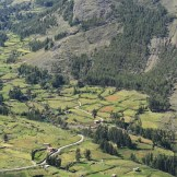 Pisac view Sacred Valley