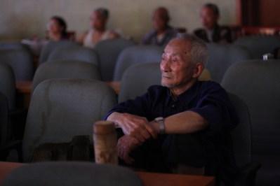 Watching the Opera, Chengdu, Sichuan