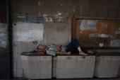 Homeless man, Guangzhou, Guangdong