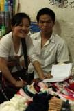 Market traders, Menghai,Yunnan