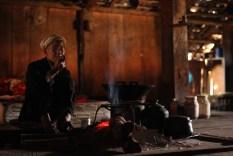 Old man in village house, Yunnan