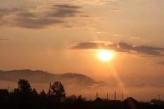 Sunrise in Batshireet, East Mongolia