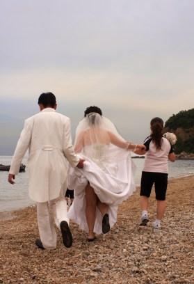 Wedding photos, Dalian, Liaoning
