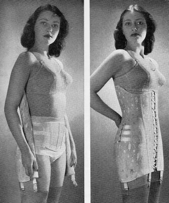 """fe32bdf4e8 Preventing your belly from """"oozing"""" out your corset – Lucy s Corsetry"""