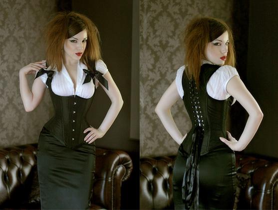 Miss Katie waistcoat corset, £325