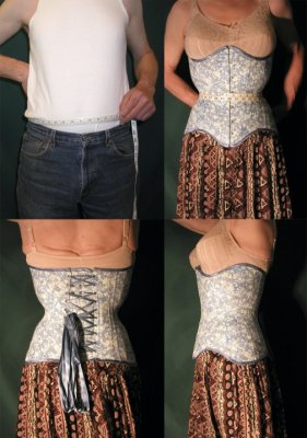 Electra Designs underbust for client Dorinda (clicking on the photo will take you to Electra's corset gallery)