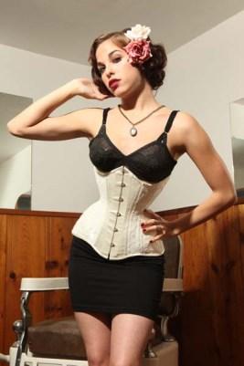 Josephine longline corset by Isabella Corsetry