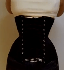 79c349bfc8 This corset cannot be laced down further due to the underbust and hips. I  keep