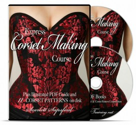 Express Corset Making Course, Scarlett Sapsford