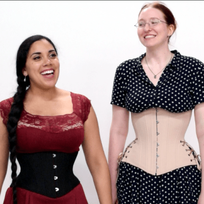 Hourglass-corsets