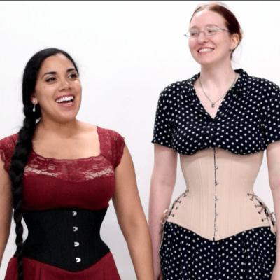 Hourglass-corsets