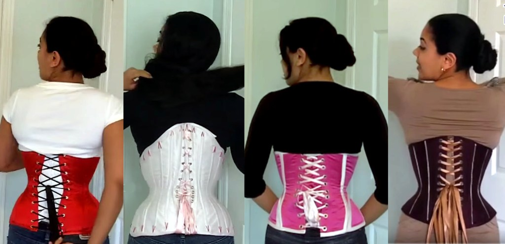 "519b2dd591 How to Correct a ""Bowing"" Corset – Lucy s Corsetry"