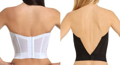 The Goddess Longline bra can be partially folded under to accommodate for an even lower back.