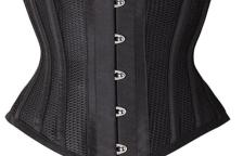65e4965003 Camellia s Corsets  Short Torso Mesh Cincher   Waspie Review