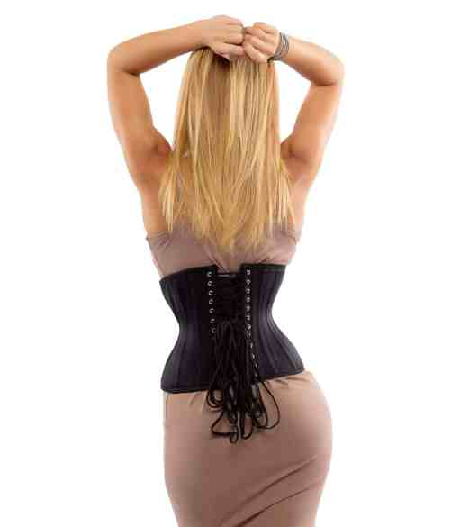 Glamorous Jolie Short curvy cincher waspie for sale at Lucy's Corsetry $84 USD