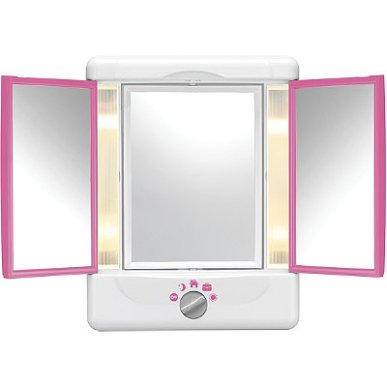 The Conair lighted mirror