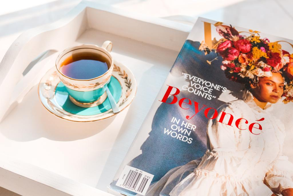 Coffee and Magazine from unsplash.com