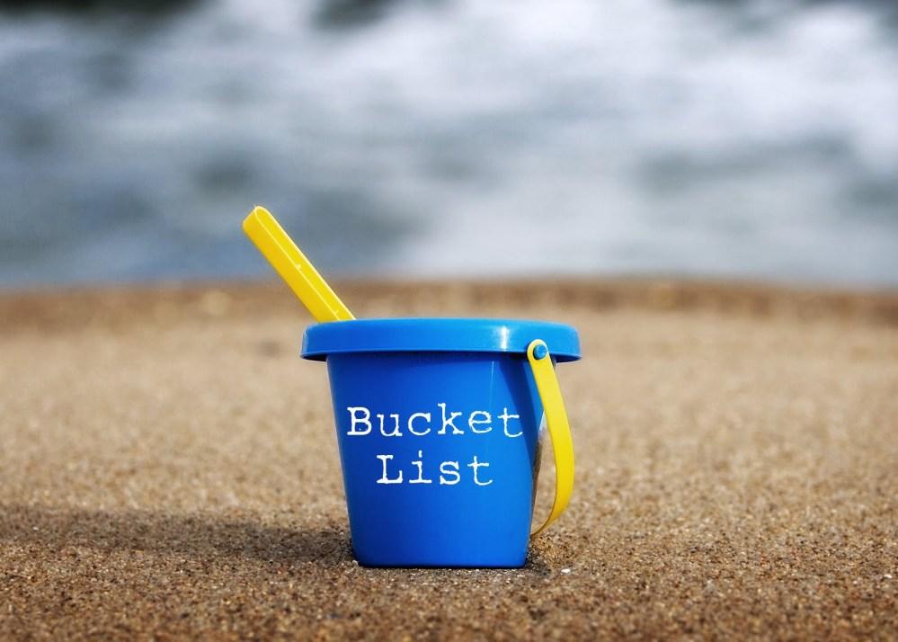 The 2012 un-bucket list experiment