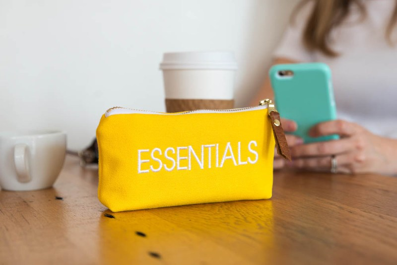 Lucy Jane Essential Oils Pouch