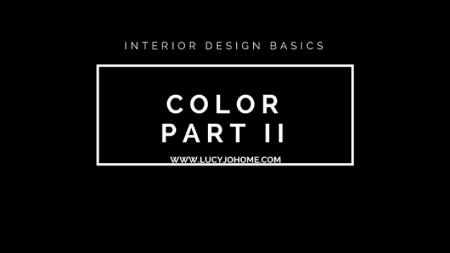Free Interior Design Course: Color
