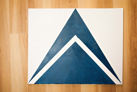 DIY Wall Art: Geometric Shapes