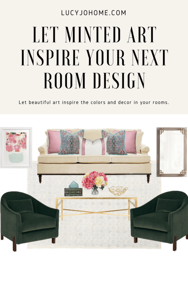Use Popular Minted Art to Inspire Your Next Room Design