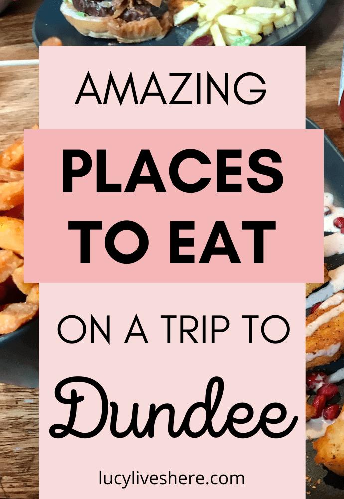 restaurants in Dundee