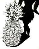 Inktober Pineapple 2015