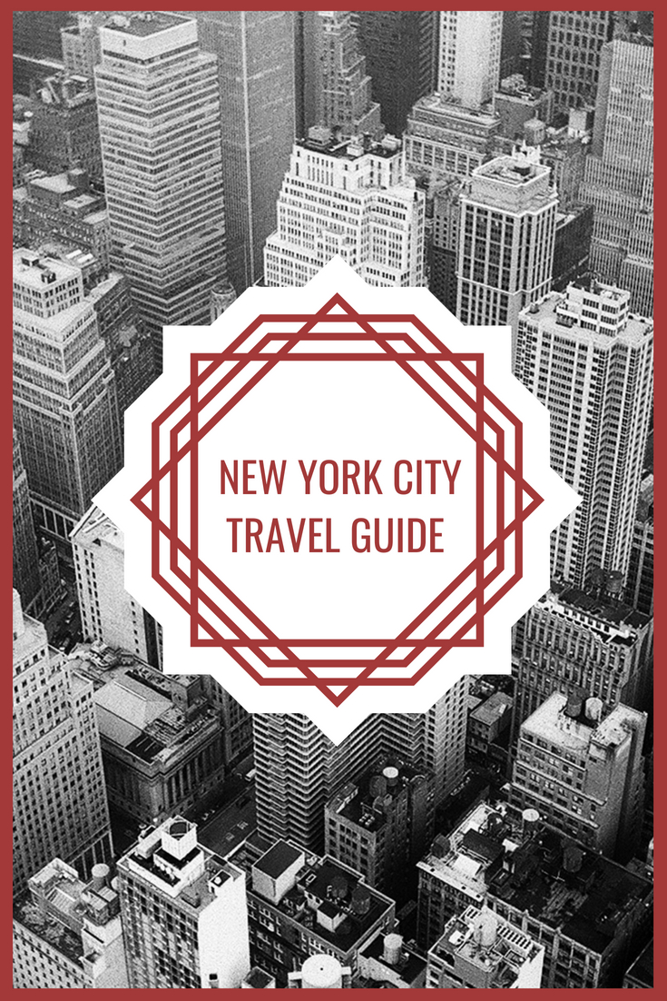 My New York City Travel Guide