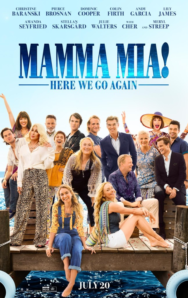 Mamma Mia: Here We Go Again Poster
