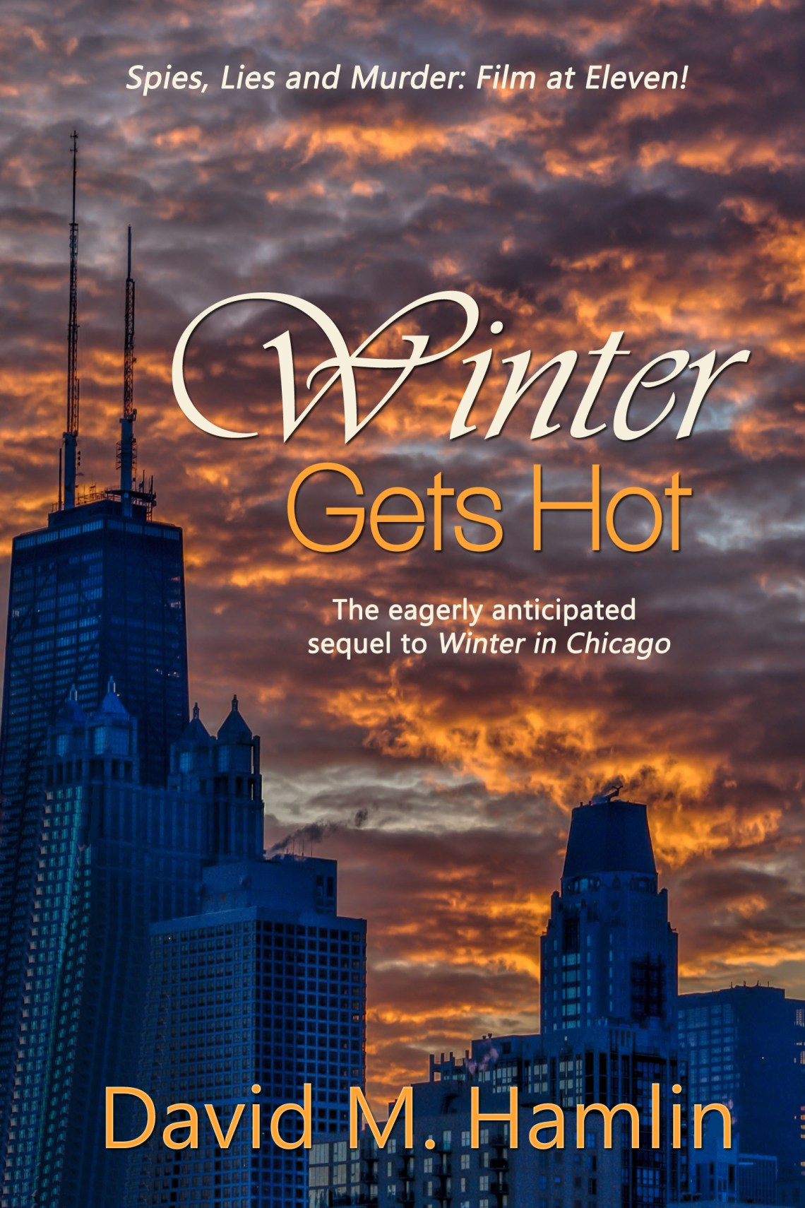 winter gets hot book cover