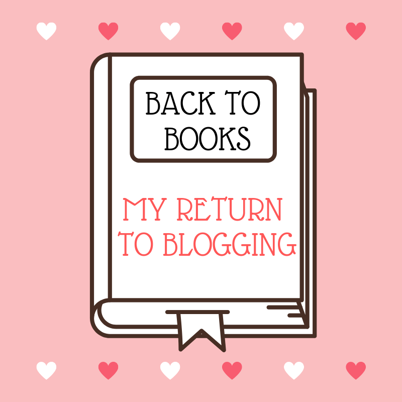 back to books my return to blogging