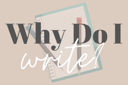Why Do I write graphic