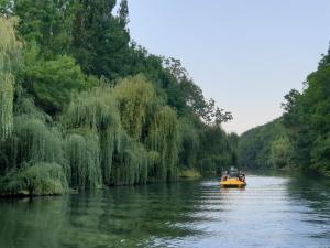 paddle boat kamchia