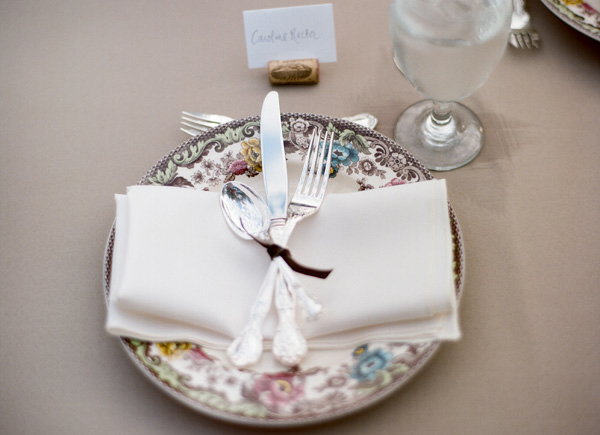 Wedding Reception Ideas Pretty Place Settings