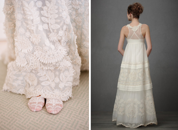 Embroidered And Crocheted Dresses