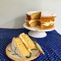 Salted Caramel Victoria Sponge Cake