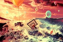Art By Cyril Rolando : Don't trash your dreams