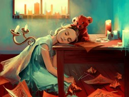 Art By Cyril Rolando : When she was six
