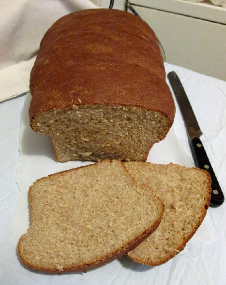 Honey Whole Wheat Bread (1/6)