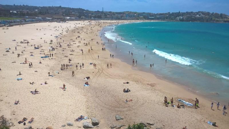 Sydney spiaggia di Bondi Beach