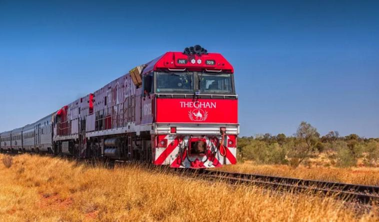 The ghan treno rosso