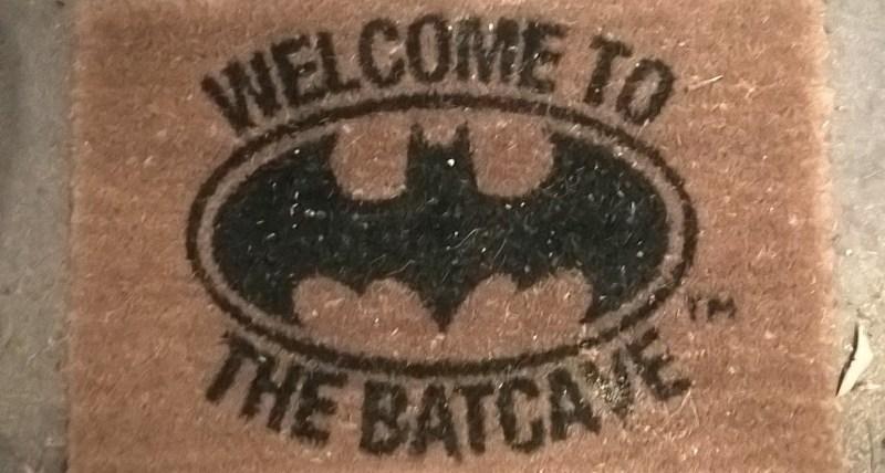 Zerbino del Centro di osservazione pipistrelli di Naracoorte, ovviamente in tema!