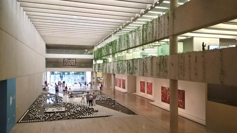 museo brisbane interno galleria QAGOMA
