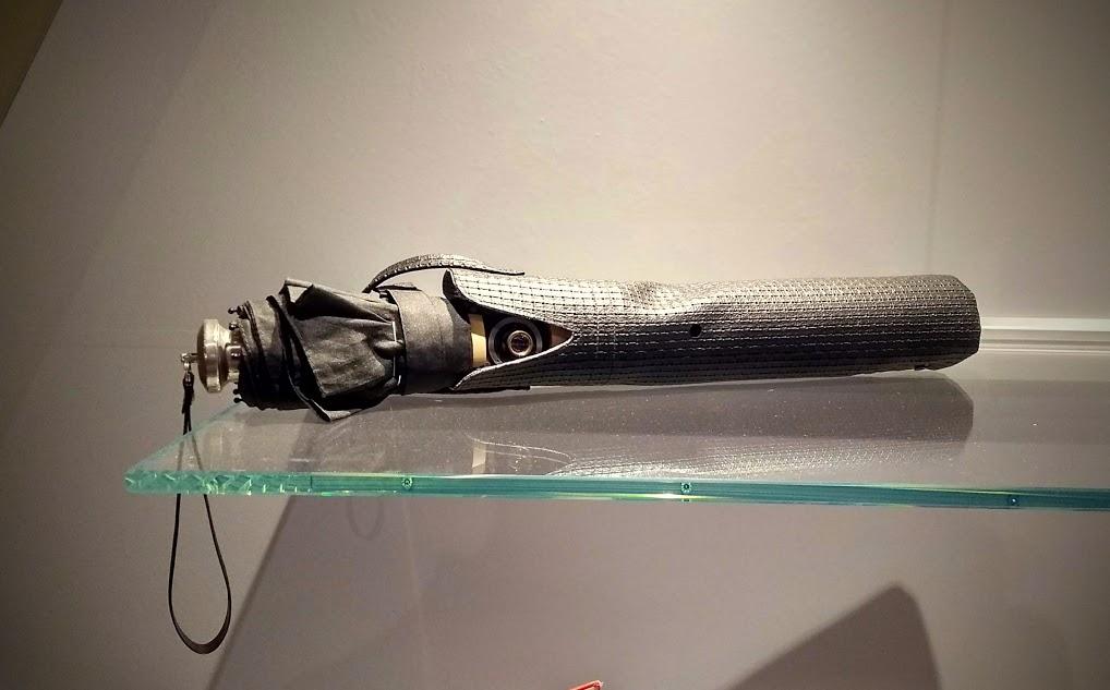 ombrello con microcamera
