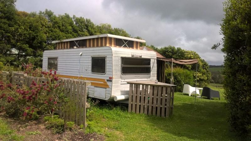 roulotte caravan glamping