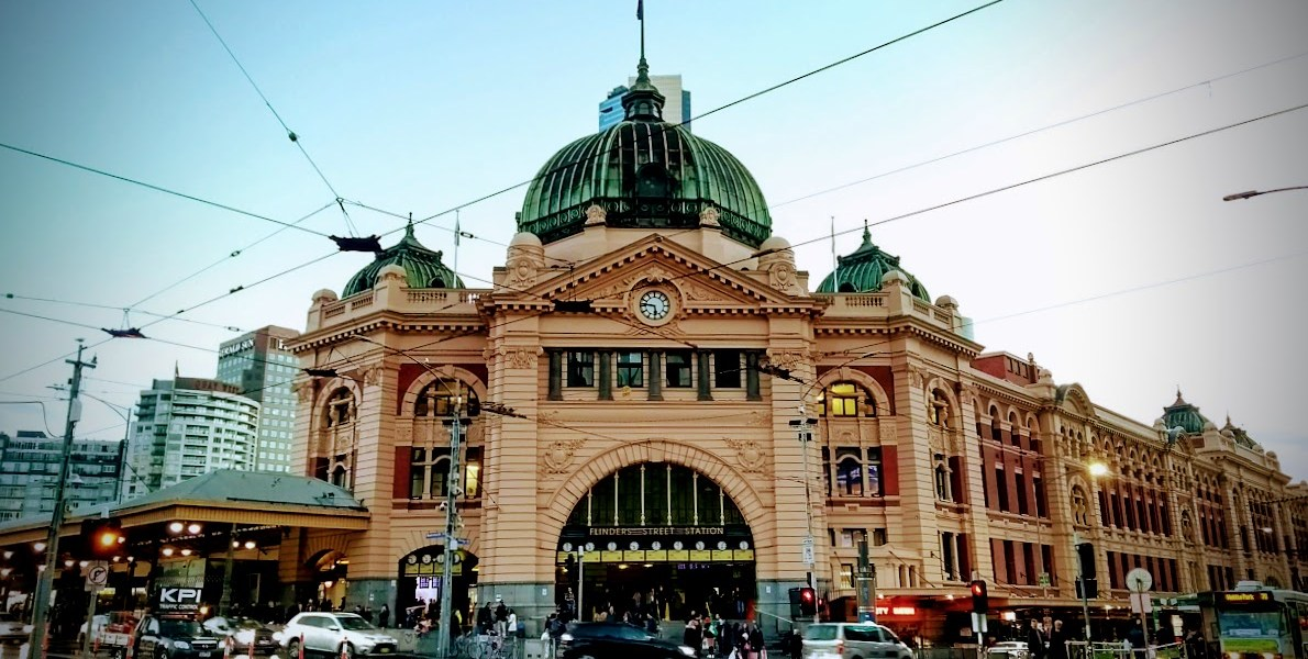 melbourne flinders street station