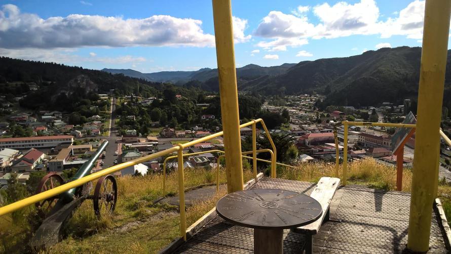 queenstown spion kop lookout panorama