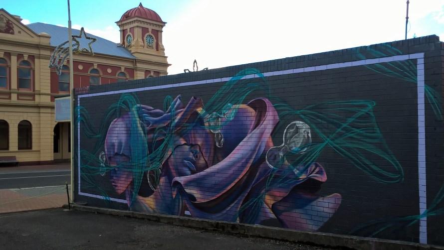 queenstown street art in centro